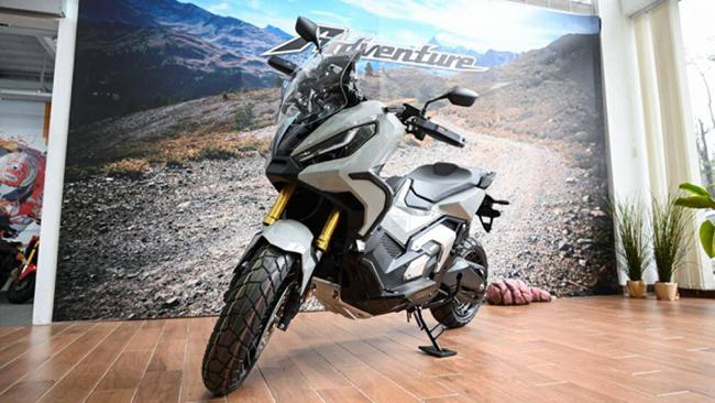 Honda ADV 750 2021 vừa ra mắt là mẫu xe hòa quyện giữa tính tiện nghi sang trọng của một chiếc tay ga scooter cùng sự đa năng của dòng xe Adventure