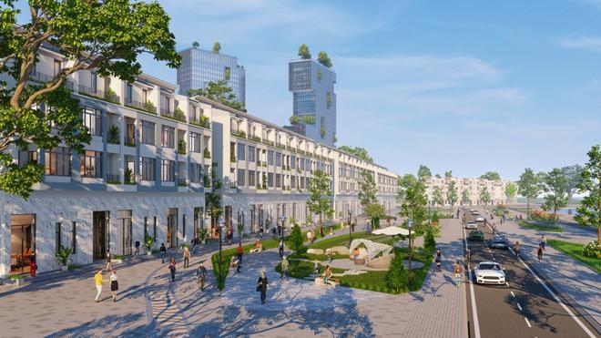 Ecopark triển khai phố đi bộ shopping và giải trí dài 2km tại Hải Dương - 1