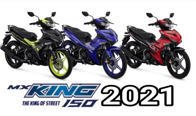 2021 Yamaha MX King 150 ra mắt, không nâng cấp 155 VVA - 1