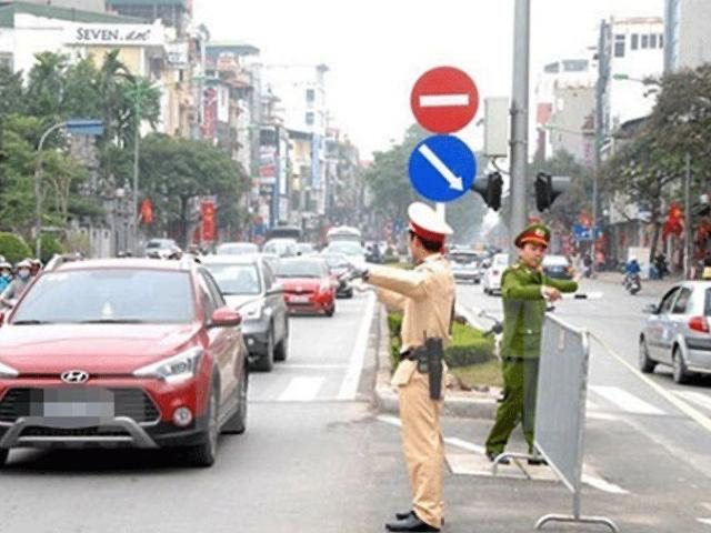 Tạm cấm nhiều tuyến đường ở Hà Nội từ 24/1 tới 2/2 - 1
