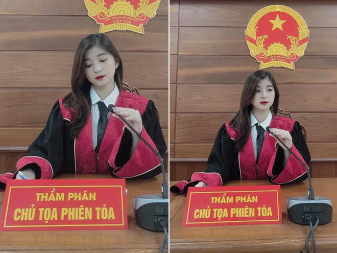 Nữ sinh 22 tuổi ngồi ghế thẩm phán khiến dân mạng xao xuyến vì quá xinh - 1