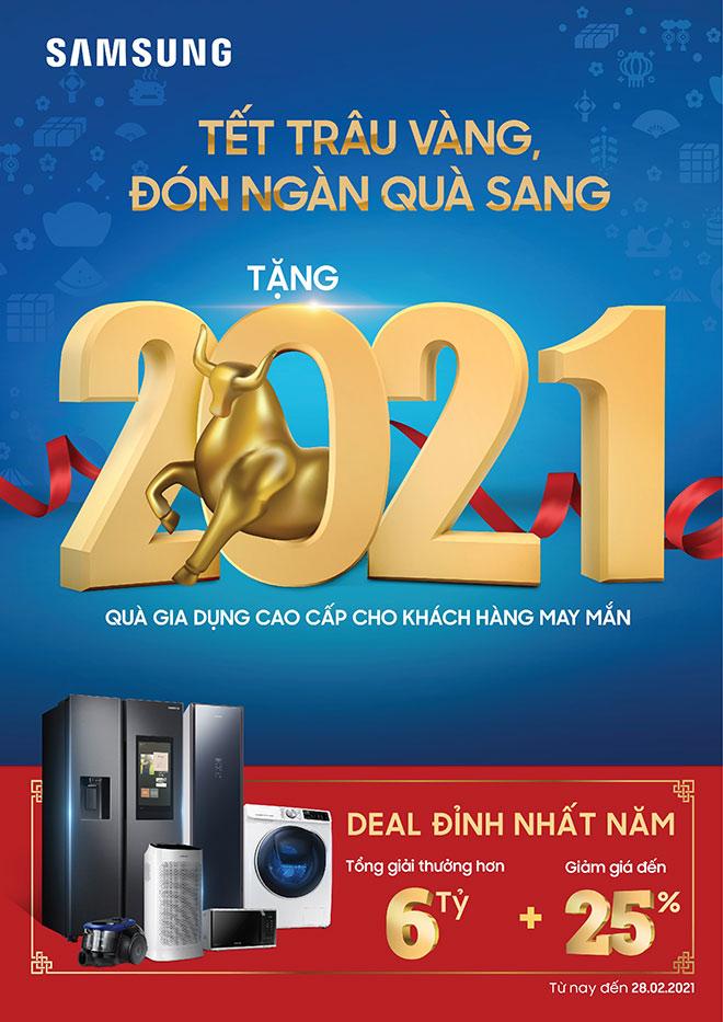 Tết Trâu vàng, săn 2021 quà sang từ Samsung - 1