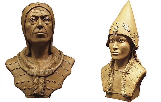 """Kinh ngạc đôi nam nữ """"trở về"""" từ mộ cổ đầy vàng 2.600 năm - 1"""