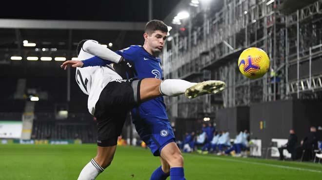 Video Fulham - Chelsea: Bước ngoặt thẻ đỏ, người hùng phút 78 - 1