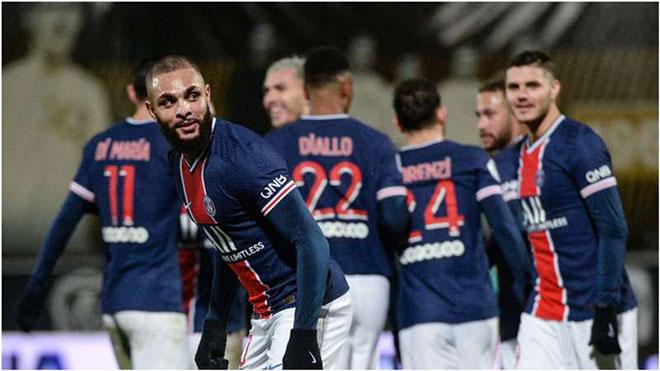 Video Angers - PSG: Đại gia khốn đốn, bước ngoặt phút 70 - 1