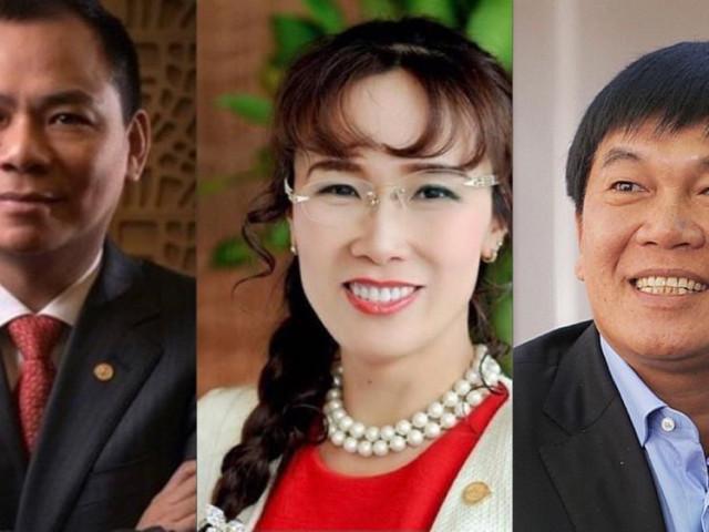 Kinh doanh - Những tỷ phú Việt trên Forbes và Bloomberg