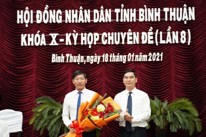 Ông Lê Tuấn Phong được bầu giữ chức Chủ tịch UBND tỉnh Bình Thuận - 1