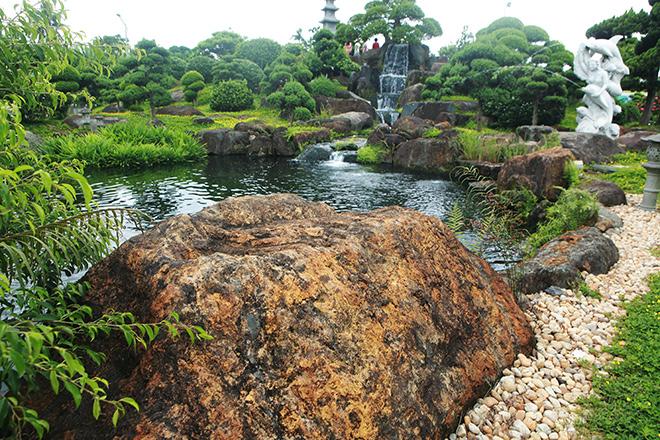Hồ cá Koi sử dụng nhiều đá bán quýlớn nhất Việt Nam - 6
