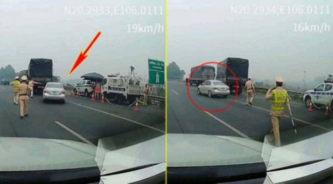"""Sự thật video """"lái xe bỏ mặc hiệu lệnh CSGT, phóng xe bỏ chạy trên cao tốc"""" - 1"""