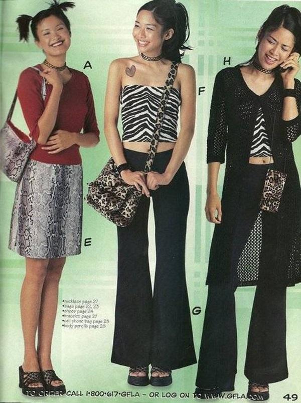 Phong cách mà thiếu nữ phương Tây chuộng thập kỷ trước - 3