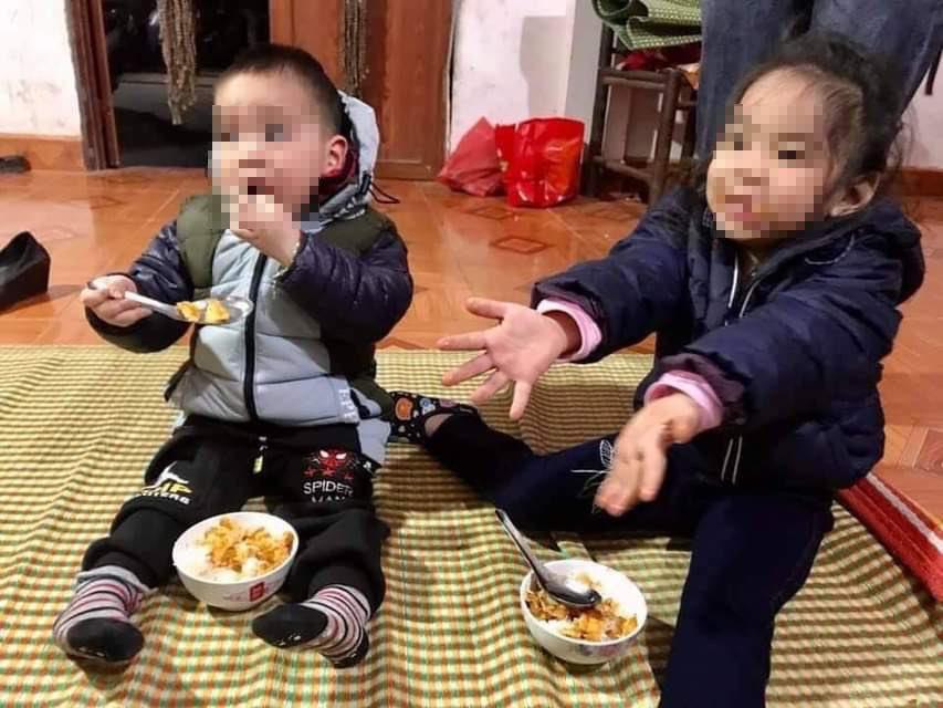 Vụ 2 chị em bị bỏ rơi ngoài trời rét ở Hà Nội: Tìm kiếm bố của 2 cháu - 1