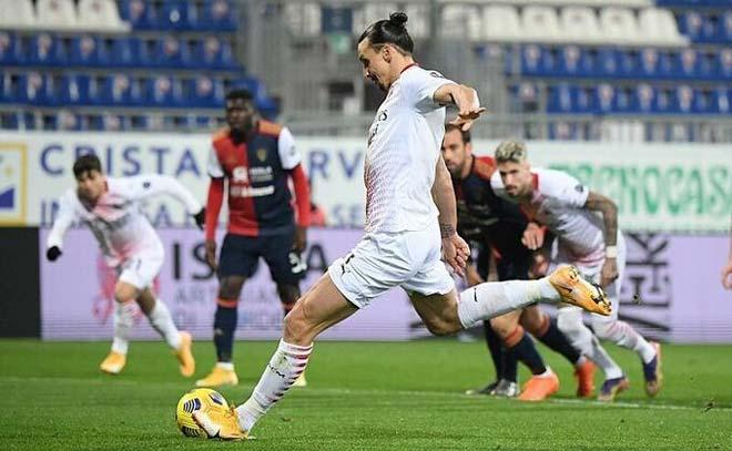 Ibrahimovic sánh vai huyền thoại Van Basten, lập kỳ tích khiến Ronaldo phải nể - 1
