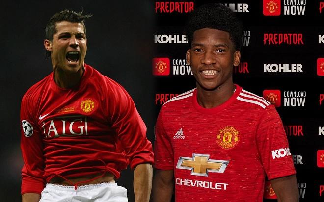 Tân binh 18 tuổi của MU được ví như Ronaldo: Quả bóng vàng tương lai? - 1