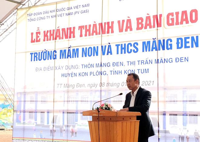 PV GAS tài trợ 12 tỷ đồng xây dựng trường học Kon Tum - 1