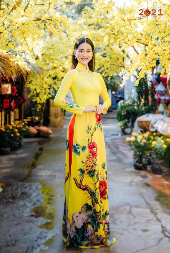 Top 5 Người đẹp Biển HHVN 2020 khoe đường cong quyến rũ với áo dài - 3