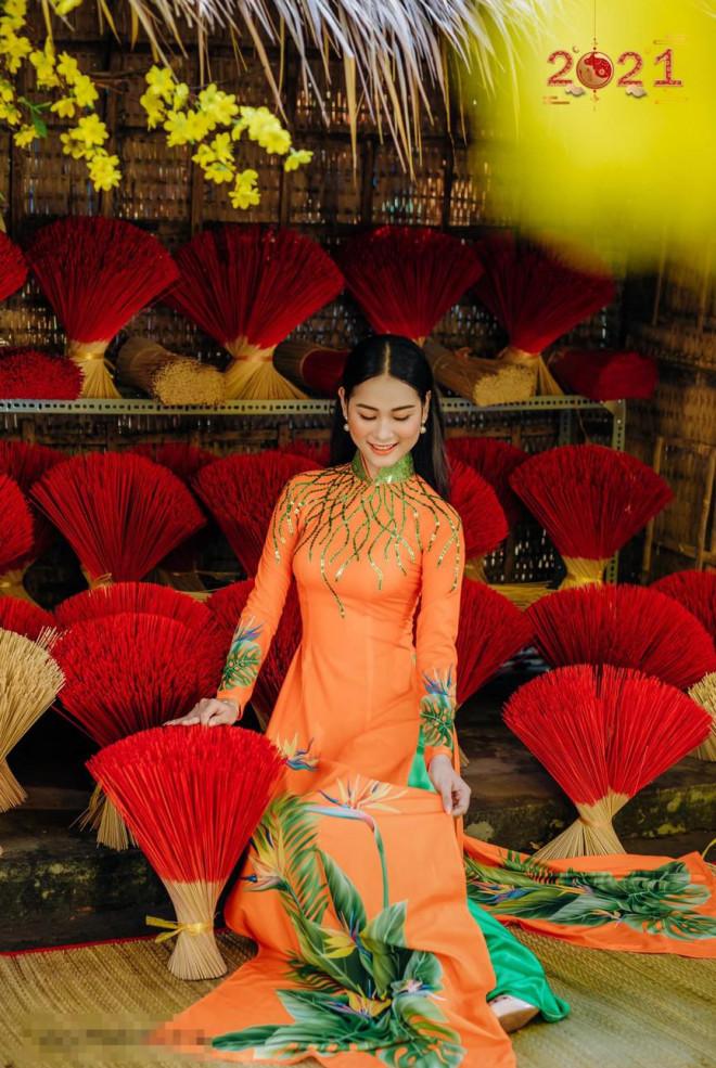 Top 5 Người đẹp Biển HHVN 2020 khoe đường cong quyến rũ với áo dài - 6