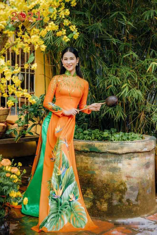 Top 5 Người đẹp Biển HHVN 2020 khoe đường cong quyến rũ với áo dài - 7