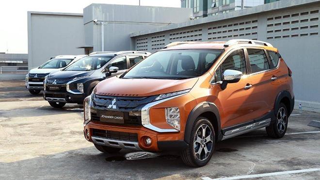 Giá xe Mitsubishi Xpander Cross lăn bánh tháng 1/2021 - 1