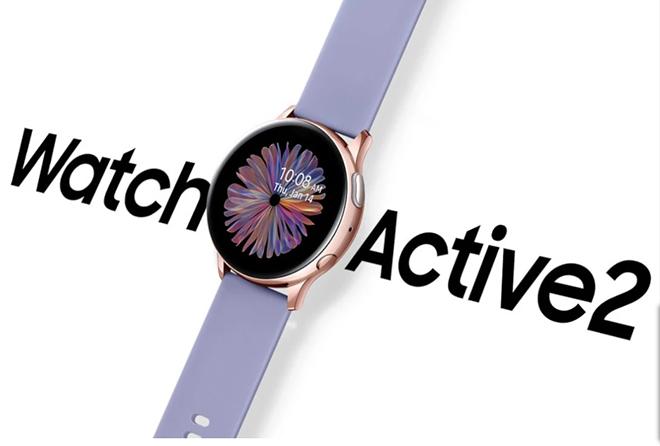 Samsung tung thêm Galaxy Watch Active 2 màu vàng hồng cực xinh cho chị em chơi tết - 1