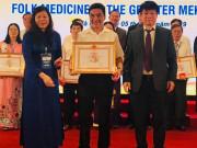 Hội đông y Việt Nam tặng bằng khen cho lương y chữa thành công trao ngược, đau dạ dày, viêm đại tràng khắp cả nước
