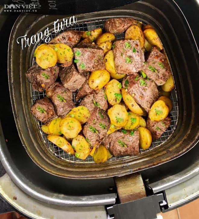 Gợi ý 3 món ngon từ thịt bò chế biến bằng nồi chiên không dầu - 4