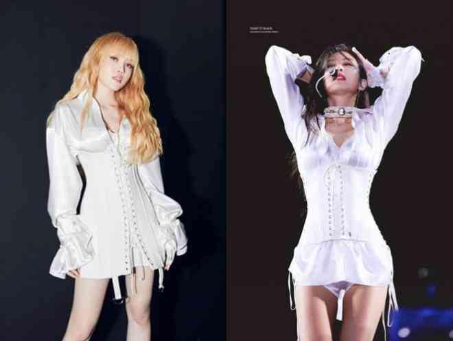 Đắng như Thiều Bảo Trâm: Vừa khoe dáng đã bị nghi mặc đồ nhái của váy Jennie diện - 8