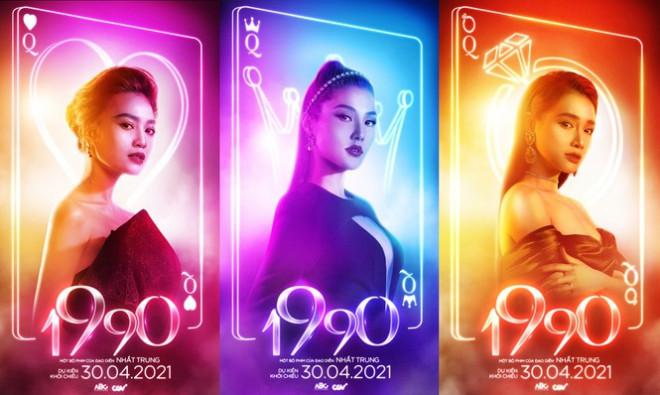 Tạo hình sang chảnh của 3 ngọc nữ hot nhất điện ảnh Việt: Nhã Phương, Lan Ngọc, Diễm My 9X trong phim mới - 1