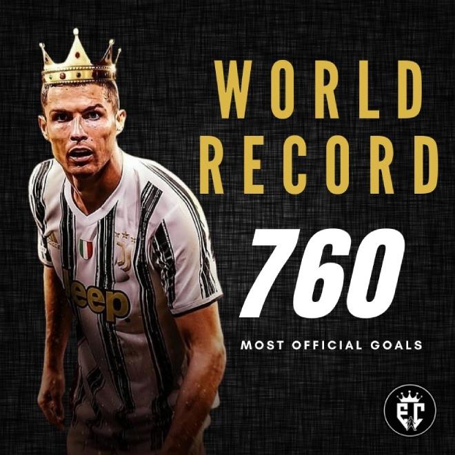 """Nóng: Siêu kỷ lục """"dội bom"""" của Ronaldo bị bác bỏ, kém huyền thoại mấy bàn? - 1"""