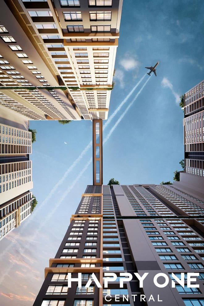 Ra mắt một trong những tòa tháp đôi cao nhất Thủ Dầu Một: Happy One - Central - 1