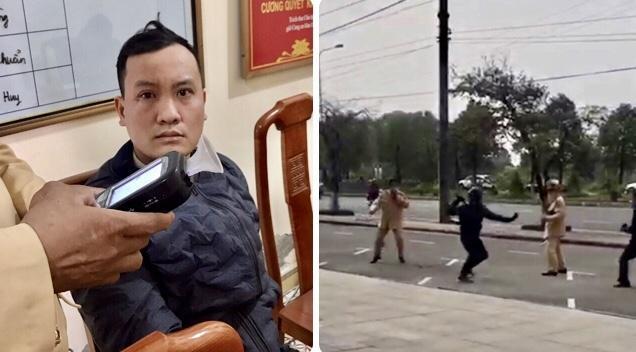 Tin tức 24h qua: Dùng côn nhị khúc đánh CSGT sau khi vượt đèn đỏ, nam thanh niên bị tạm giữ - 1