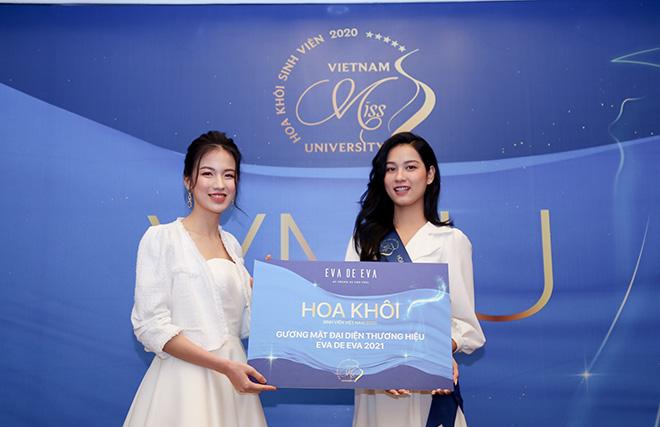 Vừa đăng quang, Hoa khôi, á khôi Sinh viên Việt Nam trở thành Gương mặt đại diện của Eva de Eva - 1