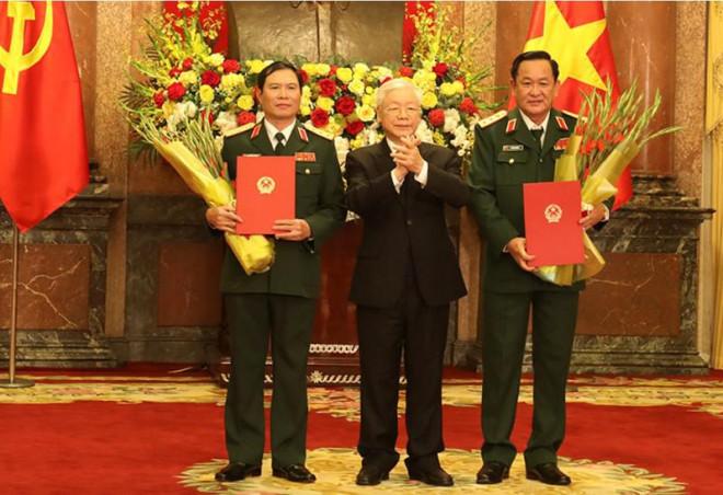 2 Thứ trưởng Bộ Quốc phòng được thăng quân hàm Thượng tướng - 1