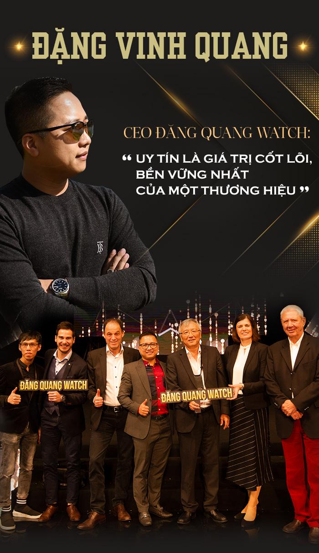 """Đặng Vinh Quang – CEO Đăng Quang Watch: """"Uy tín là giá trị cốt lõi, bền vững nhất của một thương hiệu"""" - 2"""