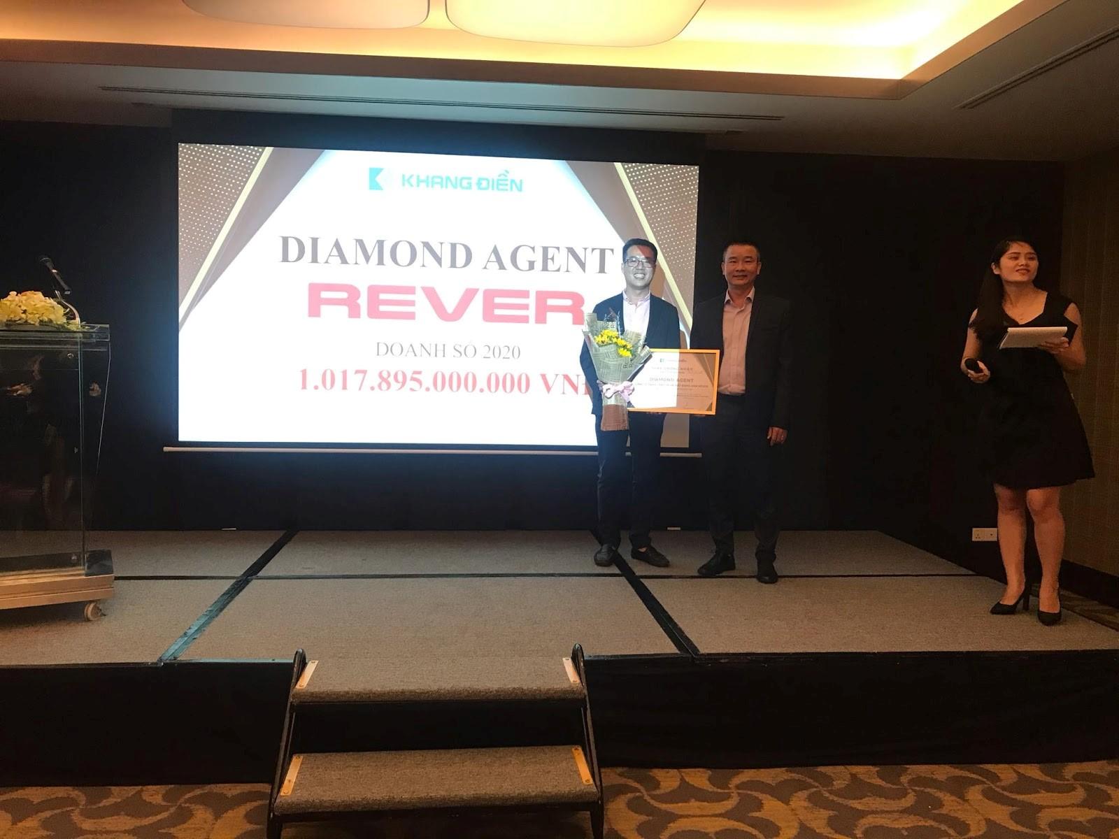 REVER là đơn vị môi giới xuất sắc đạt doanh số bán hàng trên 1.000 tỷ của Khang Điền - 1