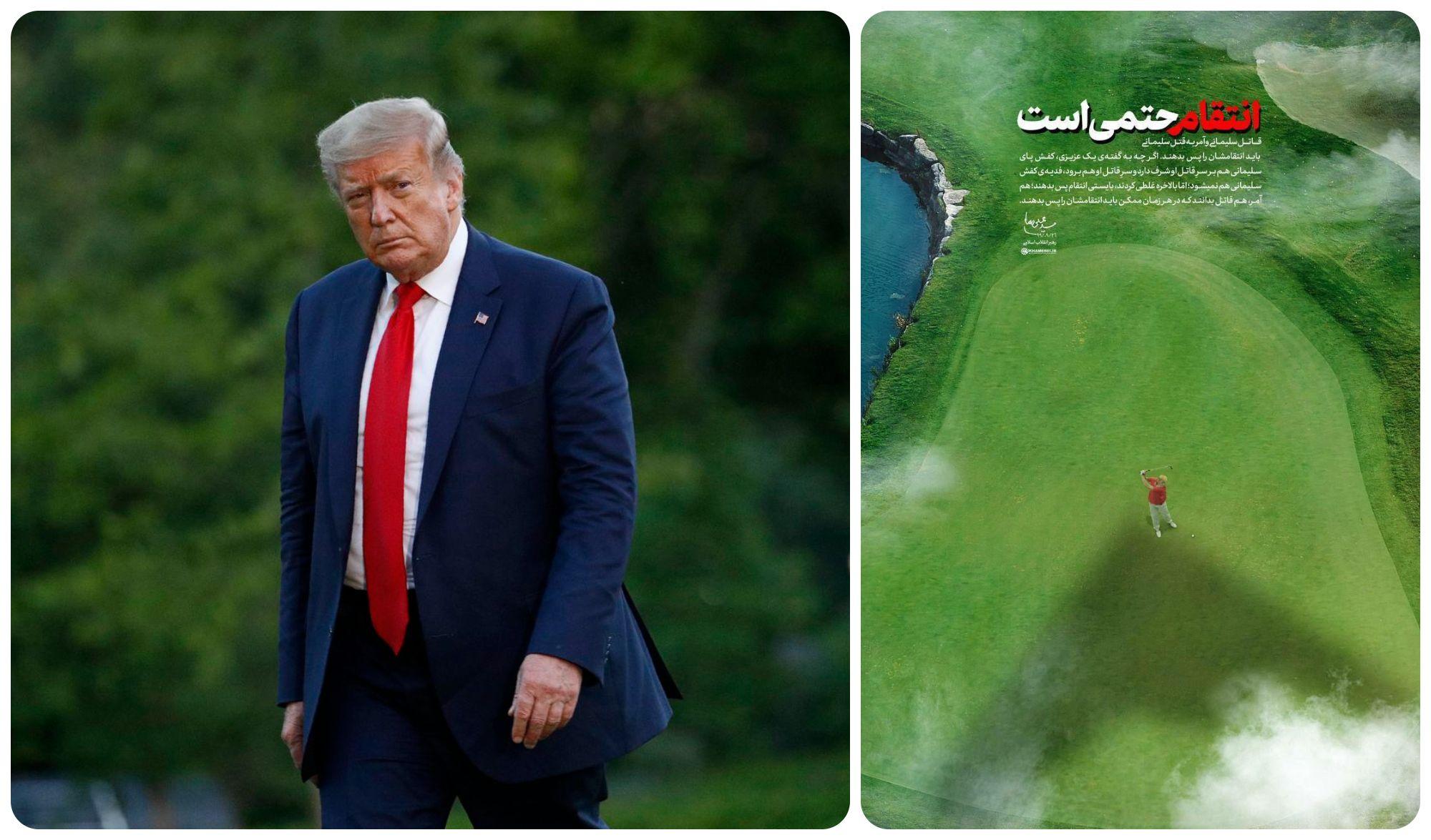 Vừa rời Nhà Trắng, ông Trump đã bị lãnh đạo nước khác dọa trả thù - 1