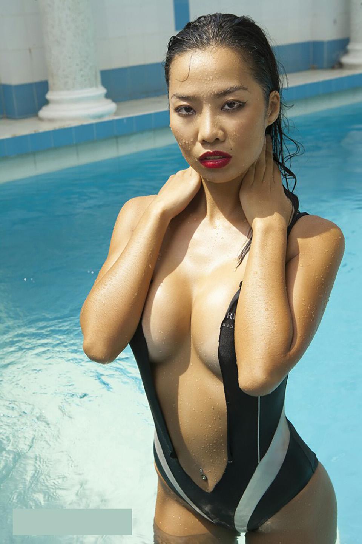 Tình cũ nóng bỏng của Kim Lý bị áp lực scandal đến mất cả sự nghiệp giờ ra sao? - 1