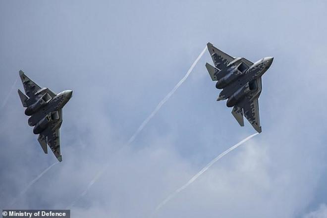 Su-57 Nga dễ dàng 'kết liễu' F-35 Mỹ khi cận chiến một - một - 1