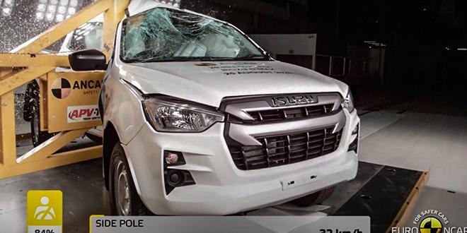 Isuzu D-Max thế hệ mới đạt tiêu chuẩn an toàn 5 sao Euro NCAP - 1