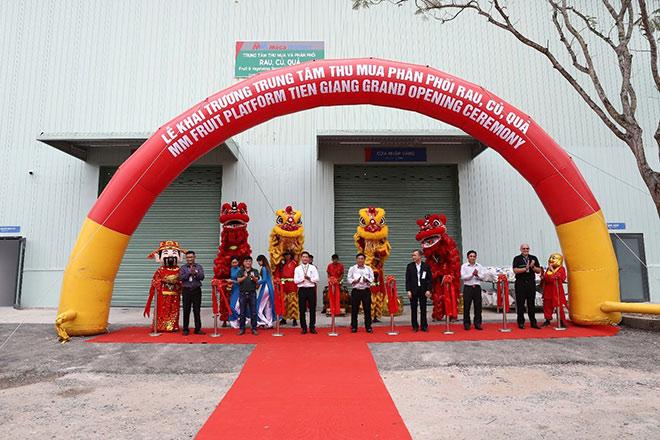 MM Mega Market Việt Nam khai trương Trung tâm thu mua và phân phối rau, củ, quả tại Tiền Giang - 1