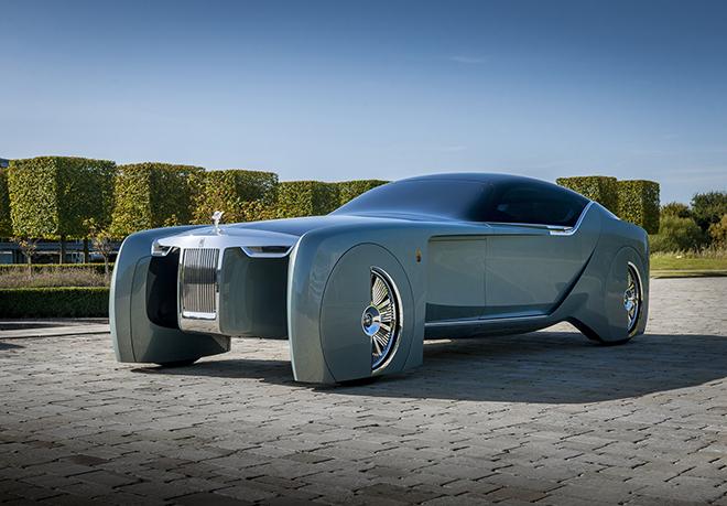 Xế điện Rolls-Royce chính thức có tên gọi mới - 1