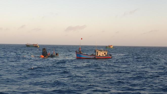 CLIP: Tìm thấy 1 thi thể khi trục vớt tàu ở gần Côn Đảo - 1