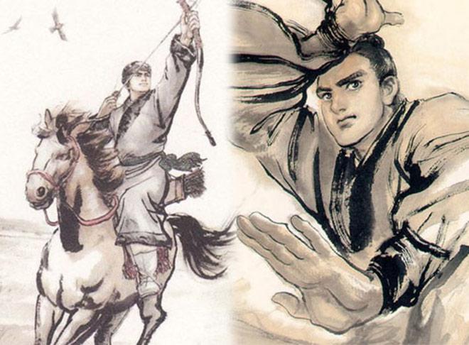 """Cao thủ biệt danh """"Con trâu nước"""" võ công bậc nhất võ hiệp Kim Dung - 1"""