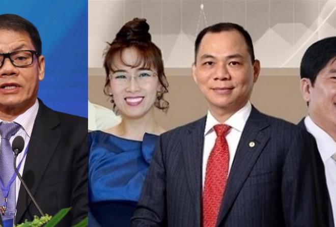 10 người giàu nhất sàn chứng khoán Việt: Hoán vị xếp hạng vì COVID -19 - 1