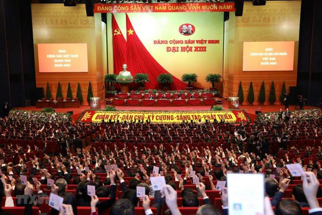 Đại hội XIII bầu Đoàn Chủ tịch, thông qua Quy chế bầu cử - 1