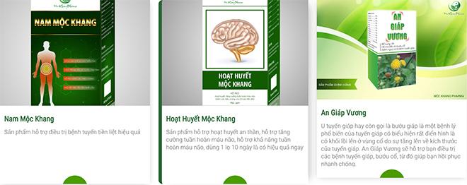 Dược Mộc Khang nhận giải thưởng Top 10 thương hiệu nổi tiếng đất Việt - 1