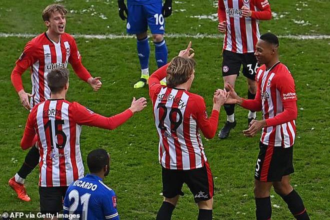 """Video Brentford - Leicester City: """"Ong đốt"""" đầu trận, ngược dòng đẳng cấp - 1"""