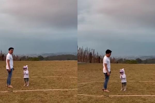 Vợ chồng Trường Giang lần đầu chia sẻ ảnh cận mặt con gái - 1