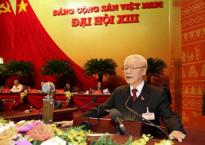 Những hình ảnh phiên khai mạc Đại hội XIII của Đảng - 1