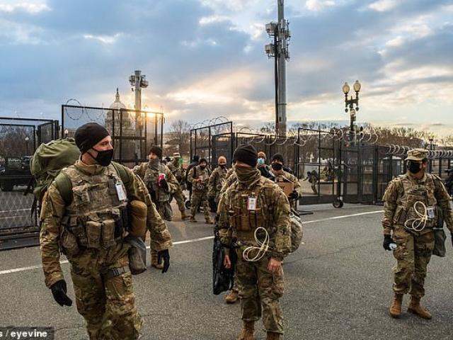 Lễ nhậm chức đã kết thúc, vì sao thủ đô Mỹ vẫn cần tới 7.000 lính Vệ binh quốc gia?