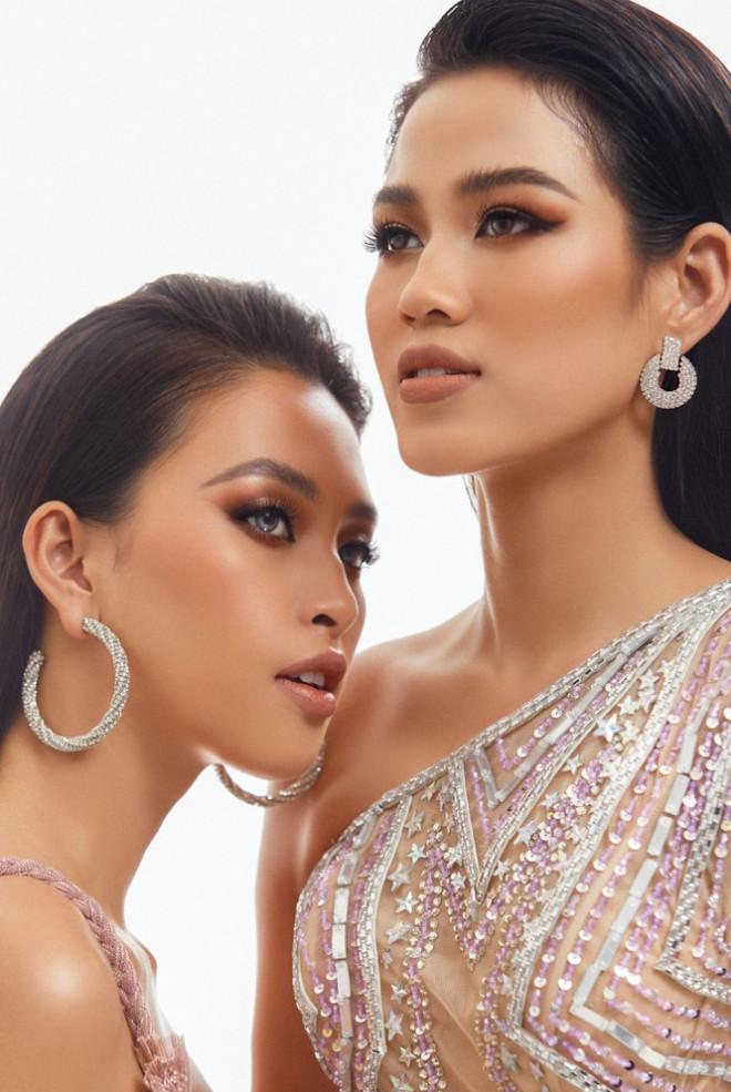 Hoa hậu Tiểu Vy - Đỗ Hà lần đầu đọ sắc trong một khung hình thời trang, thần thái cực đỉnh - 1
